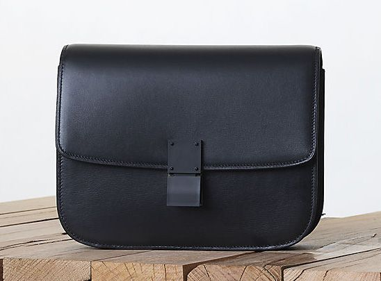 Celine-All-Black-Classic-Box-Bag-Fall-2013