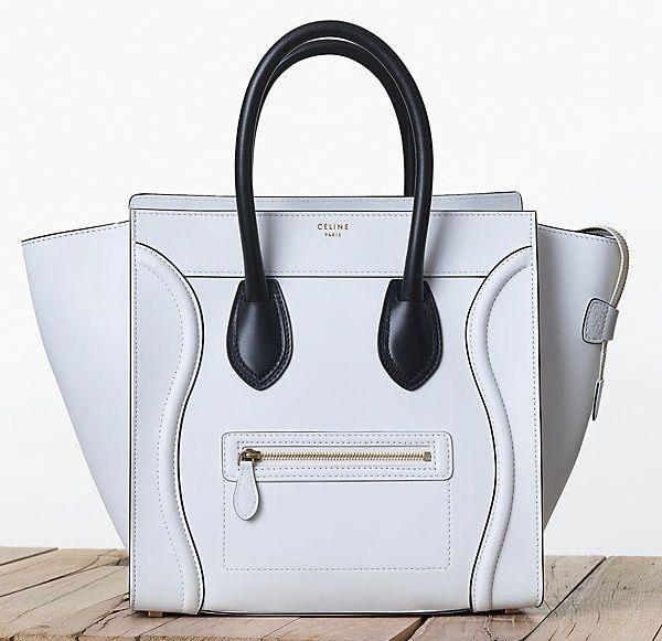 Celine-Bicolor-Luggage-Tote