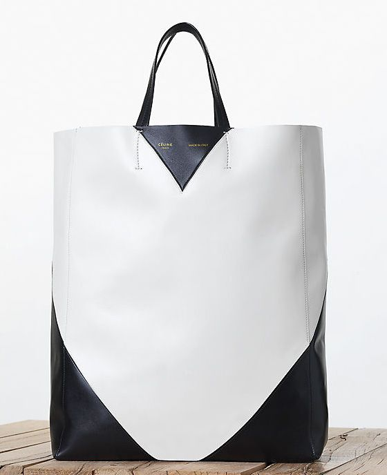 Celine-Black-and-White-Vertical-Cabas-Tote-Fall-2013
