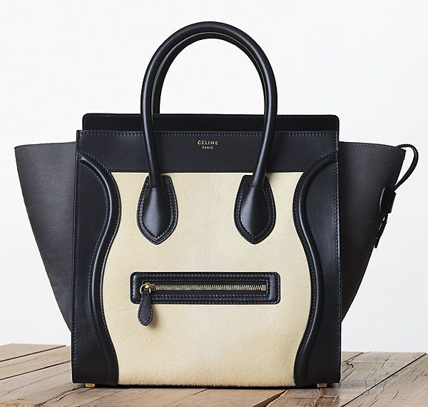 Celine-Leather-and-Calf-Hair-Luggage-Tote-Fall-2013