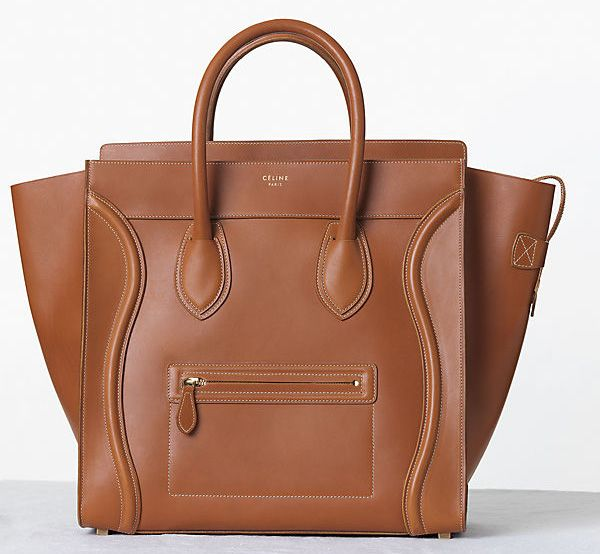 Celine-Vegetal-Leather-Luggage-Tote-Fall-2013
