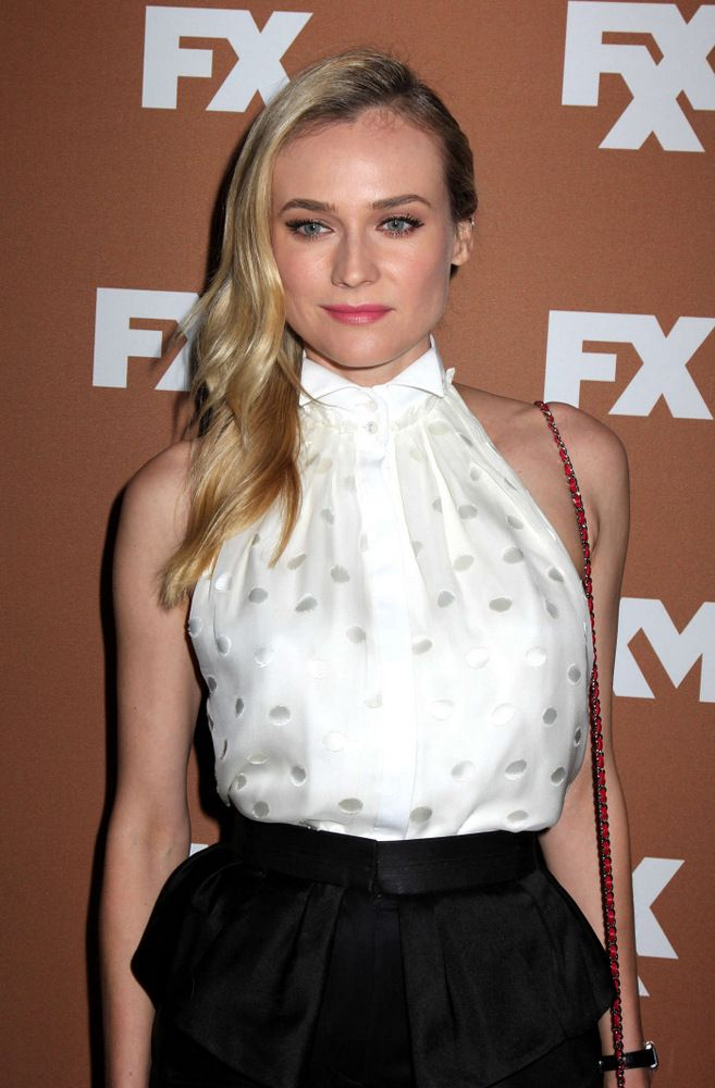 Diane Kruger FX Upfront Bowling Event in NYC 2013