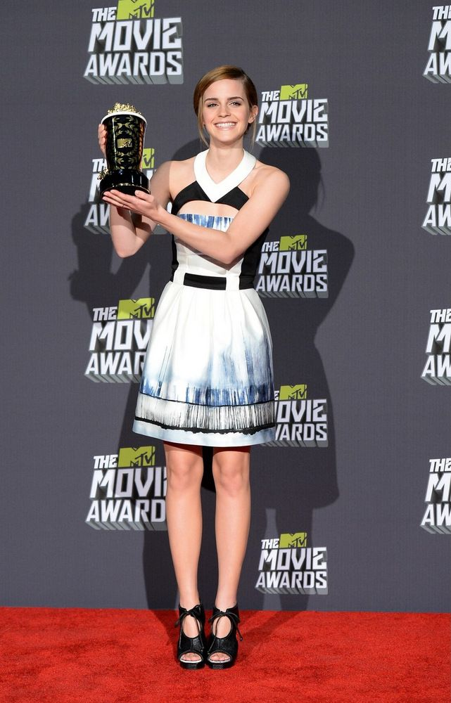 Emma Watson MTV Movie Awards in LA 2013
