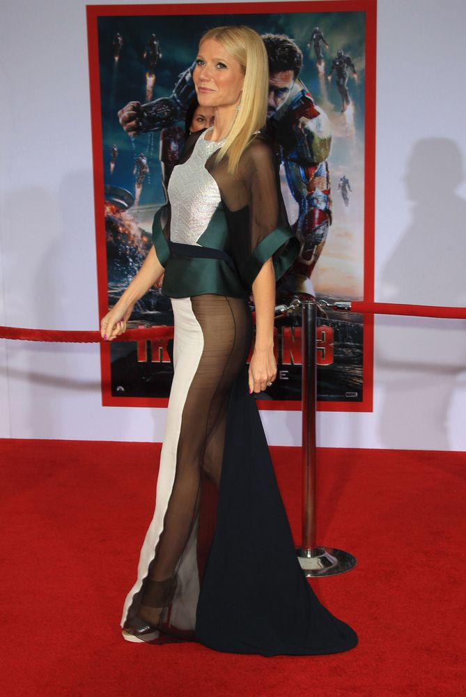 Gwyneth Paltrow arrives at the 'Iron Man 3 Premiere' in Los Angeles, CA