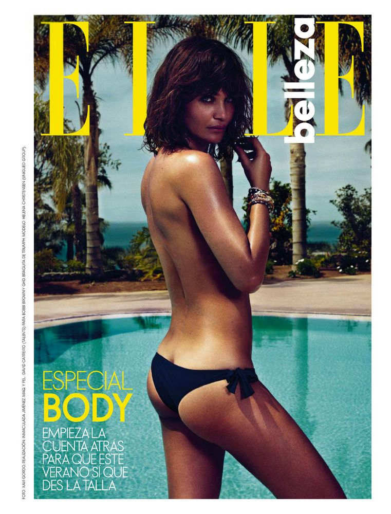 Helena Christensen Elle Spain May 2013-001