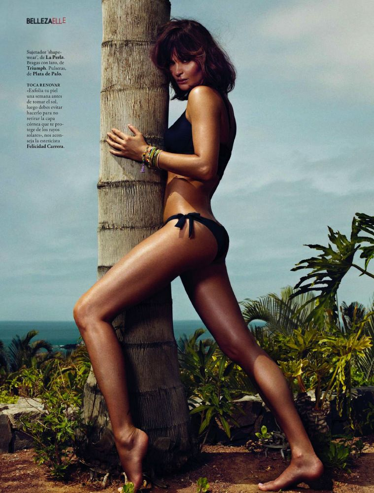 Helena Christensen Elle Spain May 2013-005
