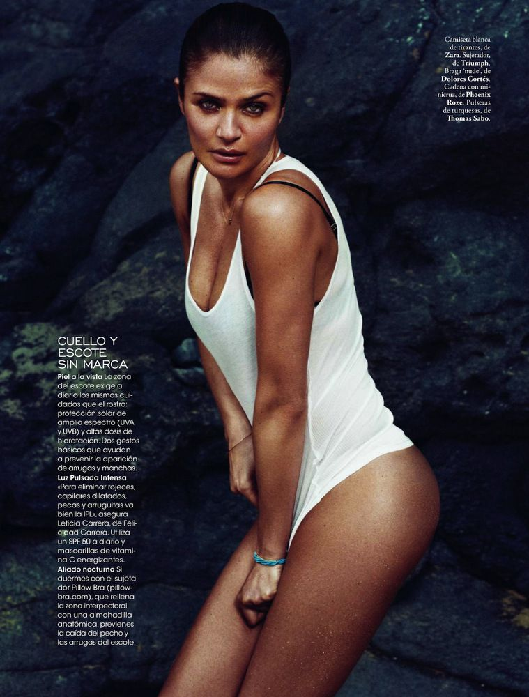 Helena Christensen Elle Spain May 2013-006