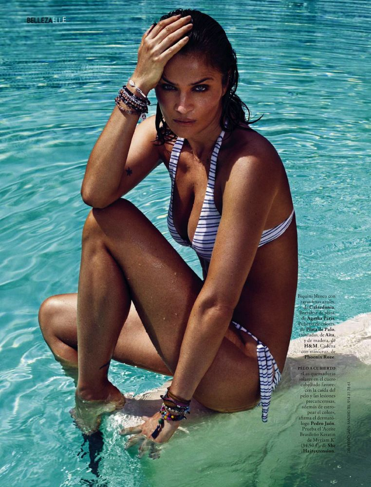 Helena Christensen Elle Spain May 2013-009