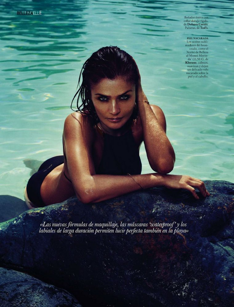 Helena Christensen Elle Spain May 2013-011