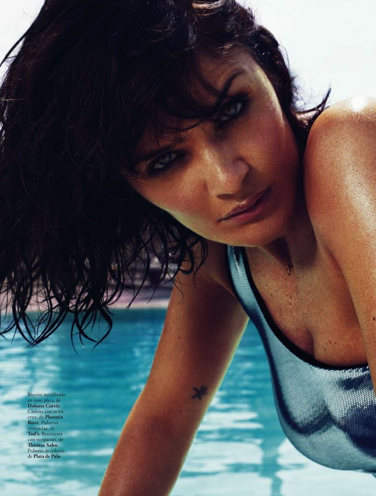 Helena Christensen Elle Spain May 2013-013