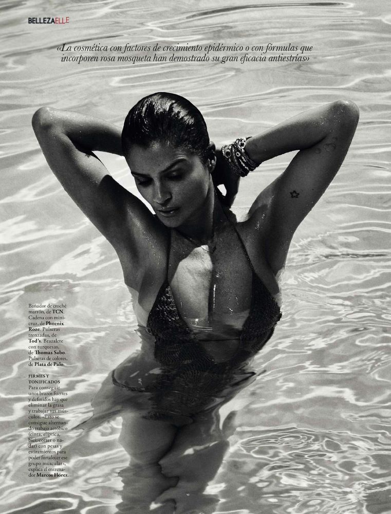Helena Christensen Elle Spain May 2013-016