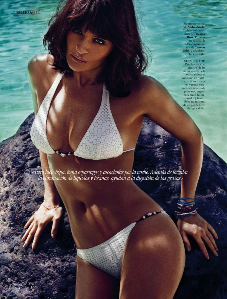 Helena Christensen Elle Spain May 2013-018