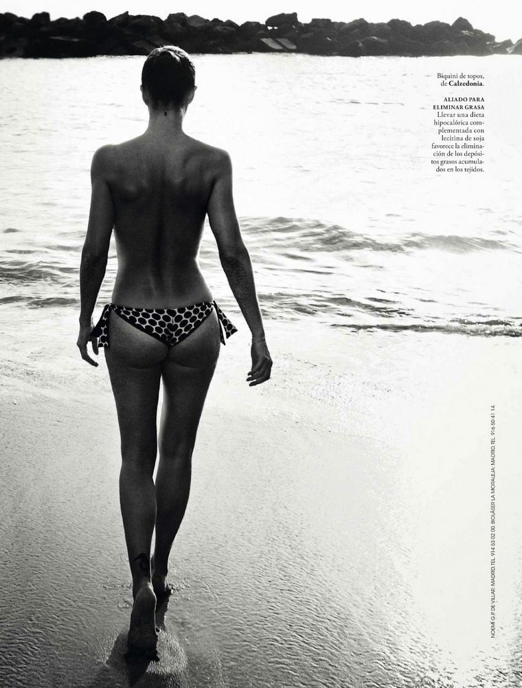 Helena Christensen Elle Spain May 2013-020
