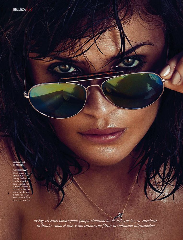 Helena Christensen Elle Spain May 2013-023