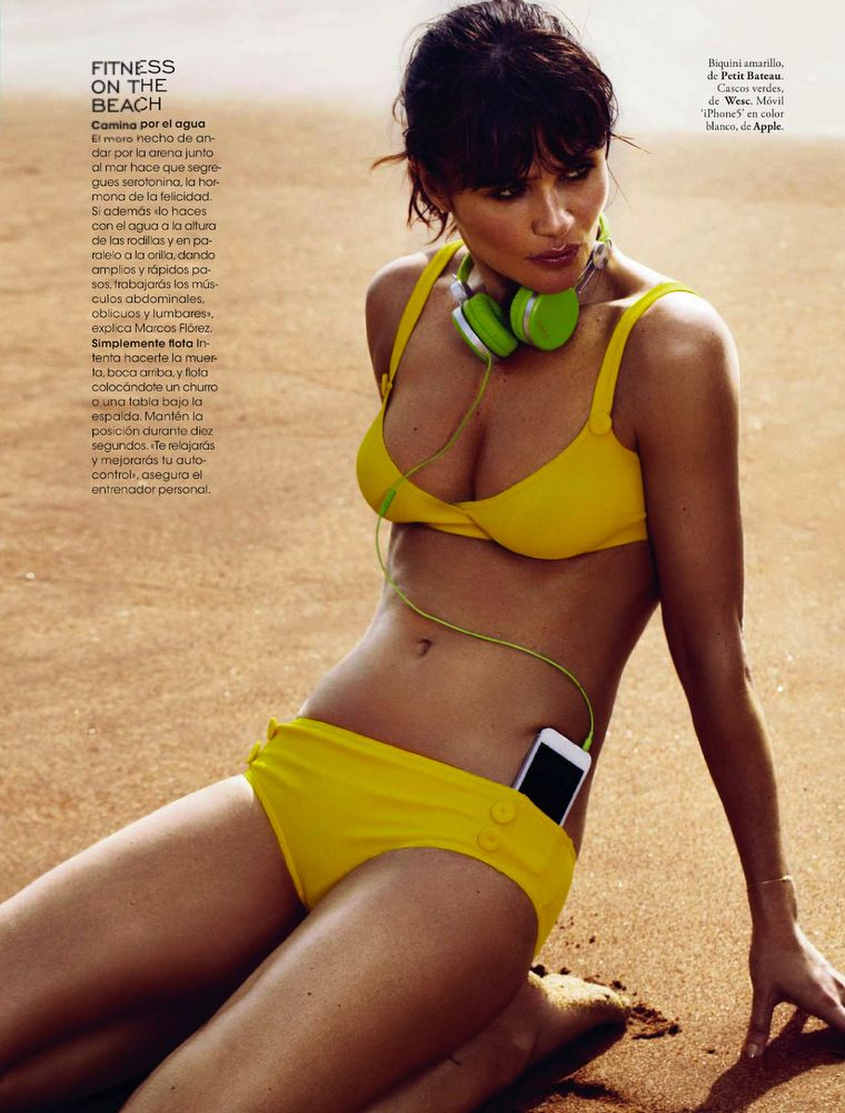 Helena Christensen Elle Spain May 2013-026