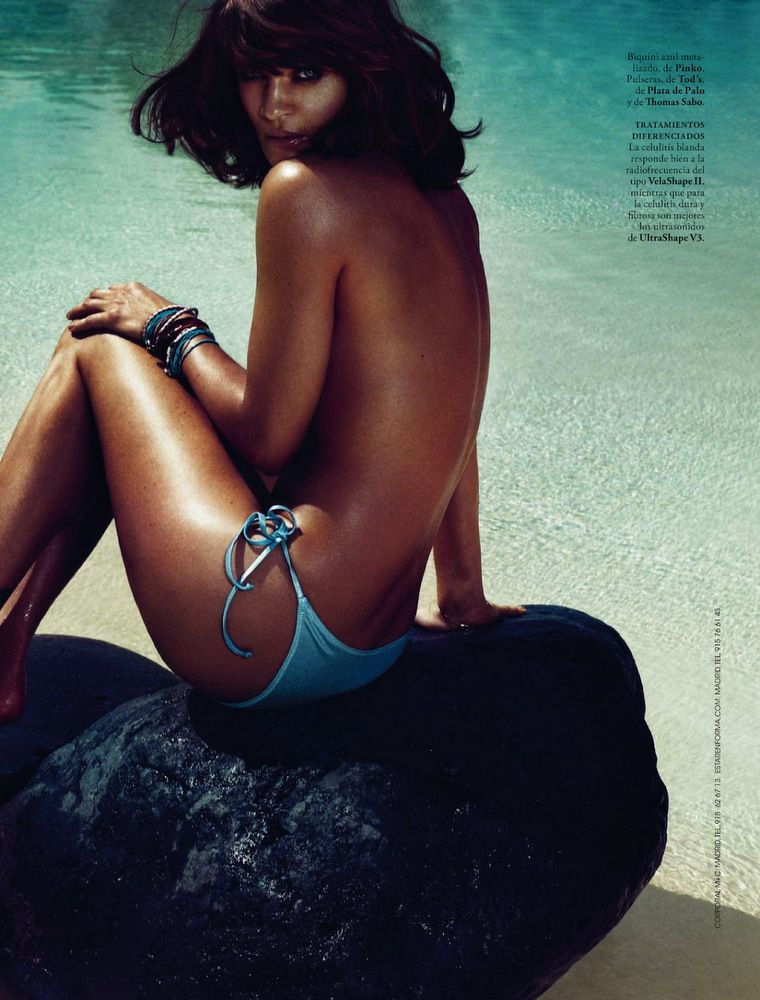 Helena Christensen Elle Spain May 2013