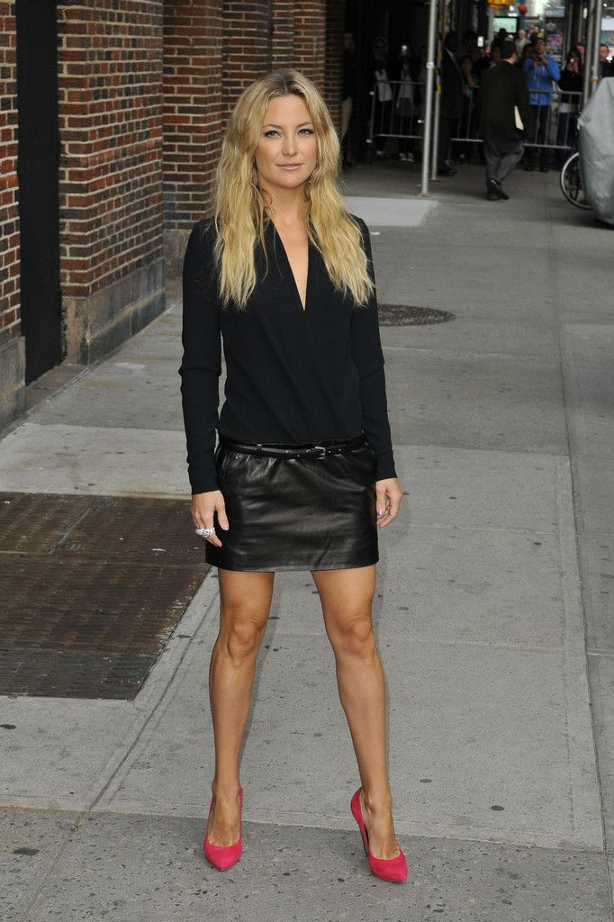 Kate Hudson The Late Show With David Letterman in New York