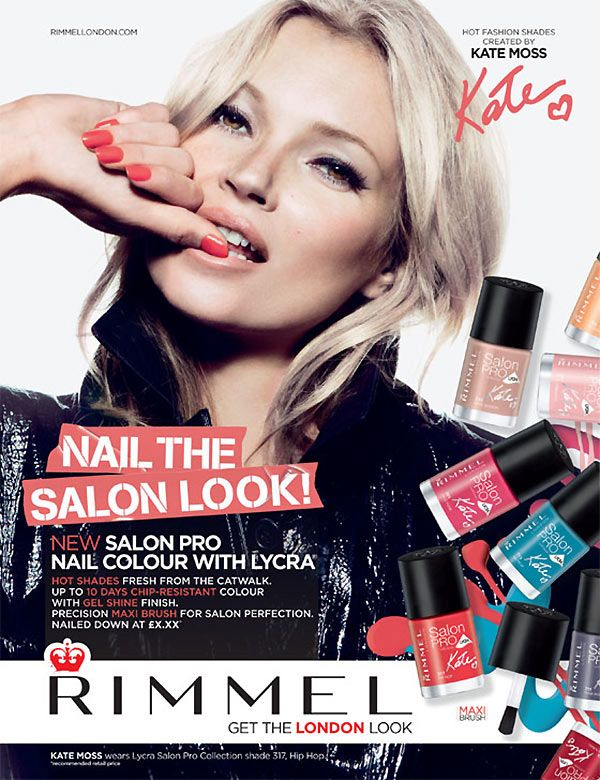 Kate Moss for Rimmel London SS 2013 Campaign