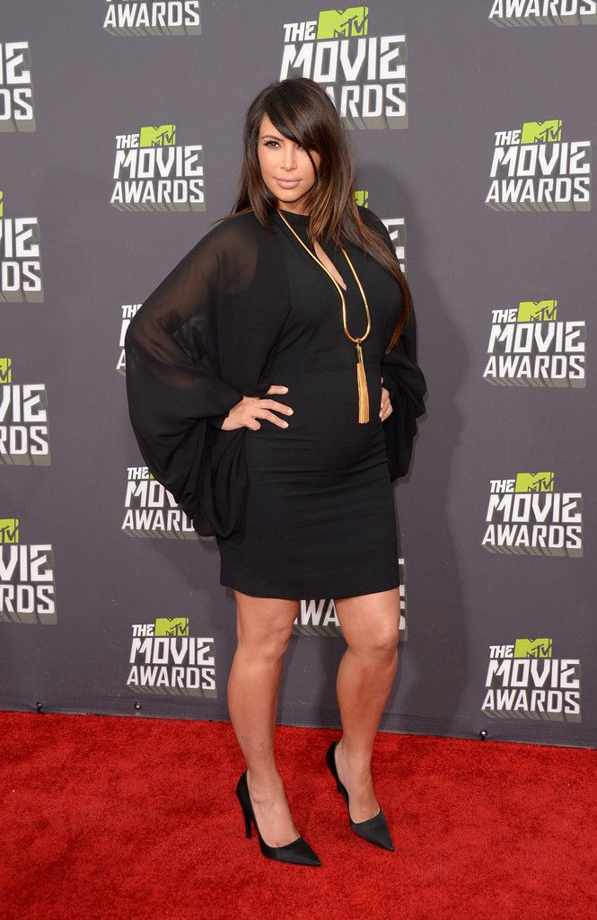 Kim Kardashian MTV Movie Awards in Culver City 2013