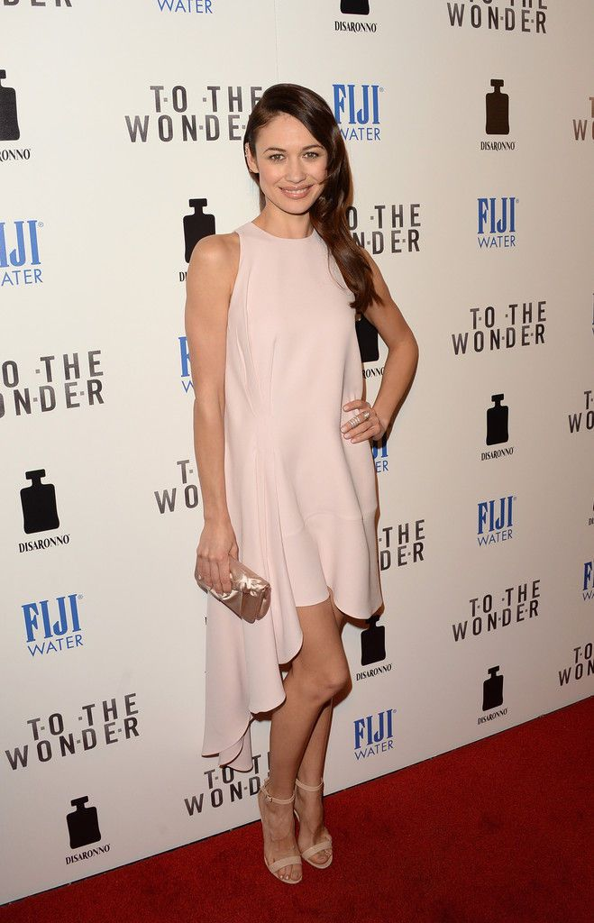 Olga Kurylenko the premiere of Magnolia Pictures To The Wonder at Pacific Design Center