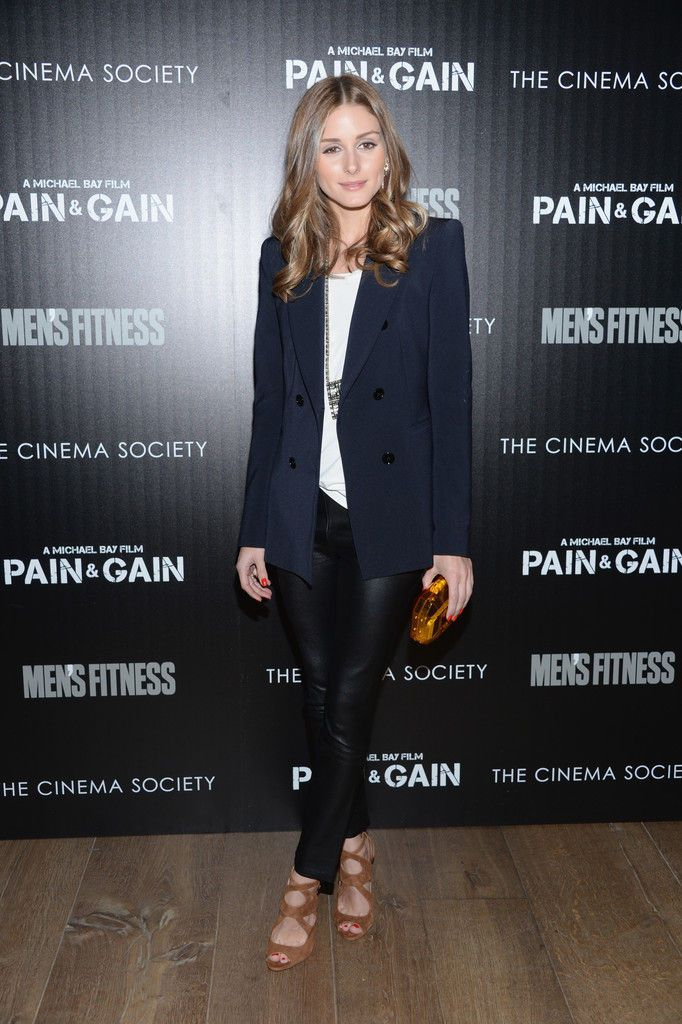 Olivia Palermo Cinema Society screening of Pain And Gain at Crosby Street Hotel