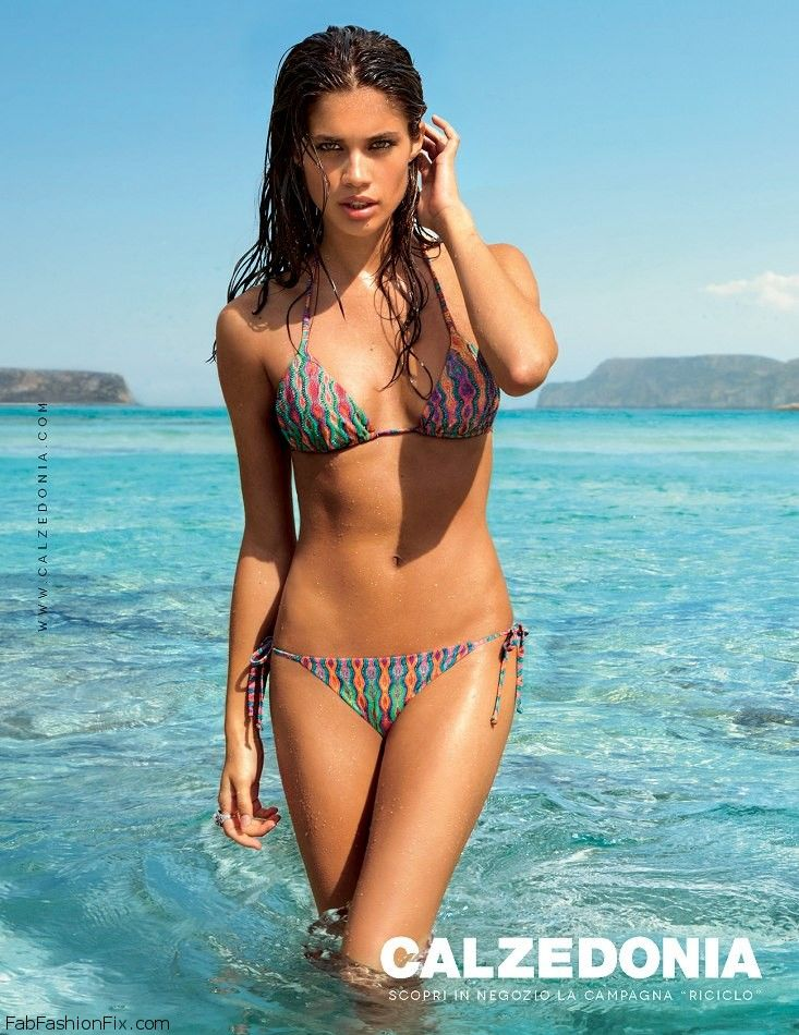 efce8d4547 Models Sara Sampaio (Women) and Kelly Gale (VIVA) feature as the faces of Calzedonia  Swimwear Summer 2013 campaign.