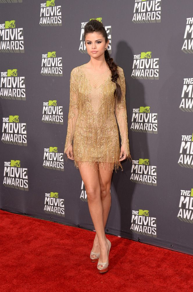 Selena Gomez MTV Movie Awards in LA 2013-001