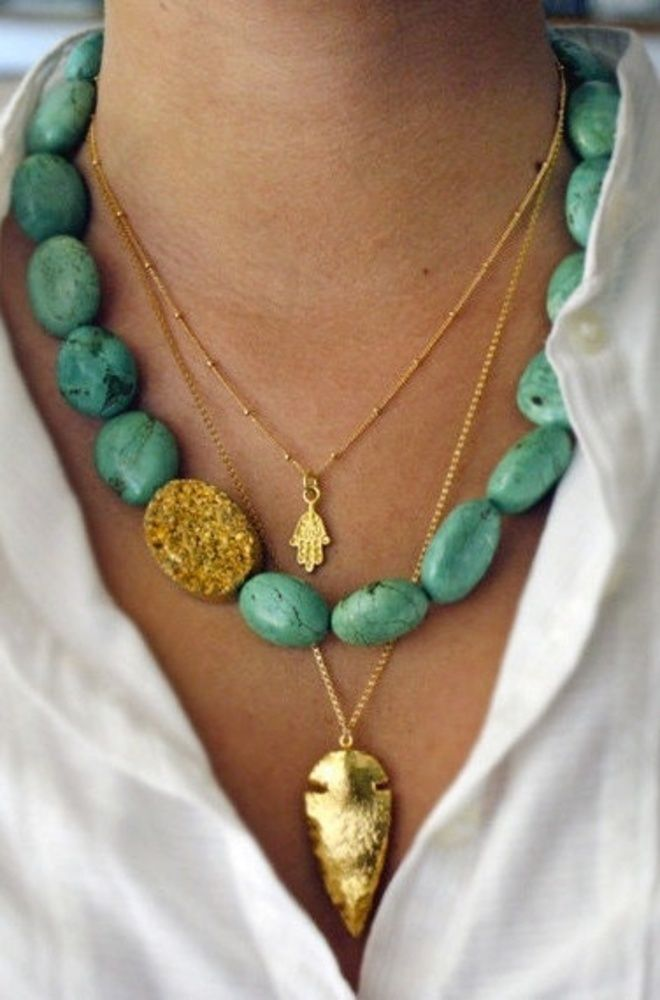Jewelry Trends: Style Watch: Turquoise Jewelry Trend