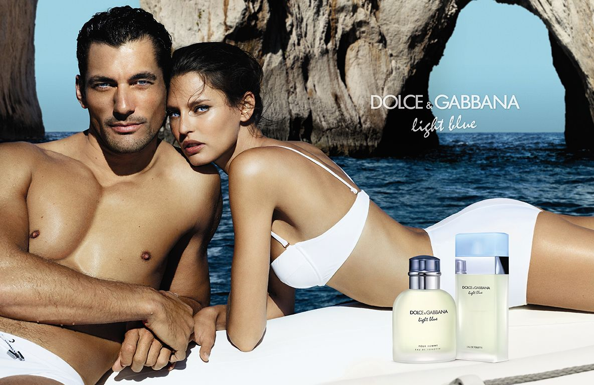 david-gandy-bianca-balti-dolce-gabbana-light-blue-campaign