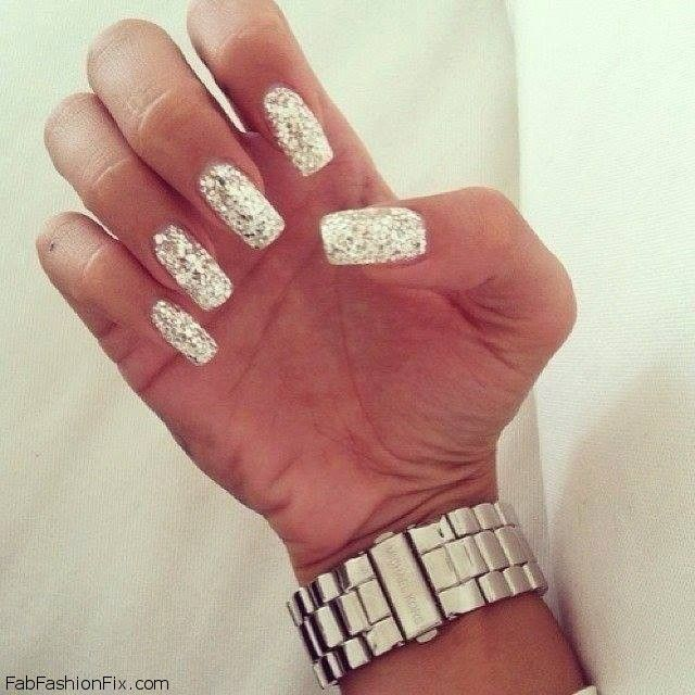 Glitter Nails Trend, Ideas & Inspiration - Fab Fashion Fix