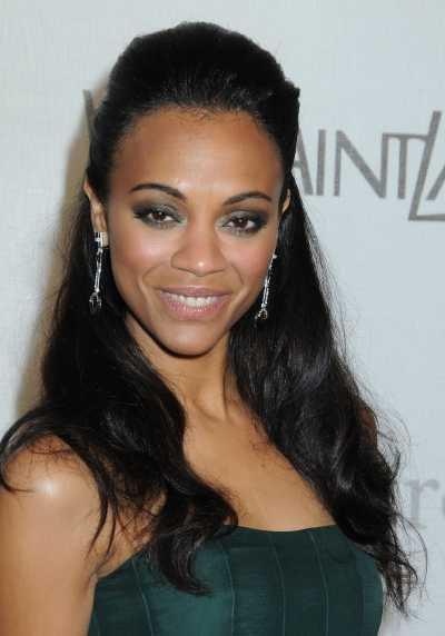 zoe-saldana-half-up-half-down-hairstyle
