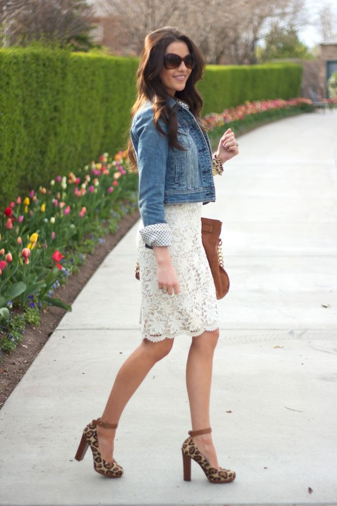 Style Guide: How to wear the white dress this spring? | Fab ...