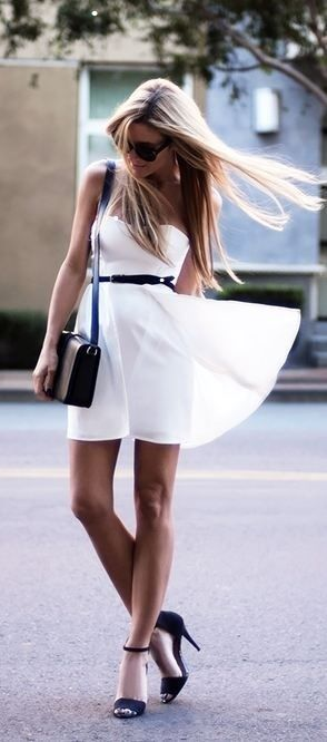 a70bb918d150 Style Guide: How to wear the white dress this spring? | Fab Fashion Fix