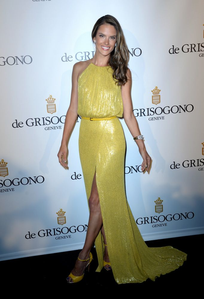 Alessandra Ambrosio Cocktail Reception at the Grisogono Party