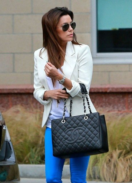 Eva Longoria Out In Santa Monica April 24 2013