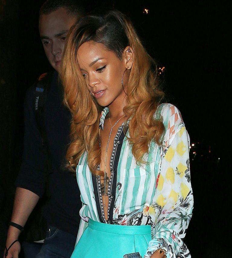 Rihanna leaving Da Silvano restaurant in NYC 8.5.2013_39