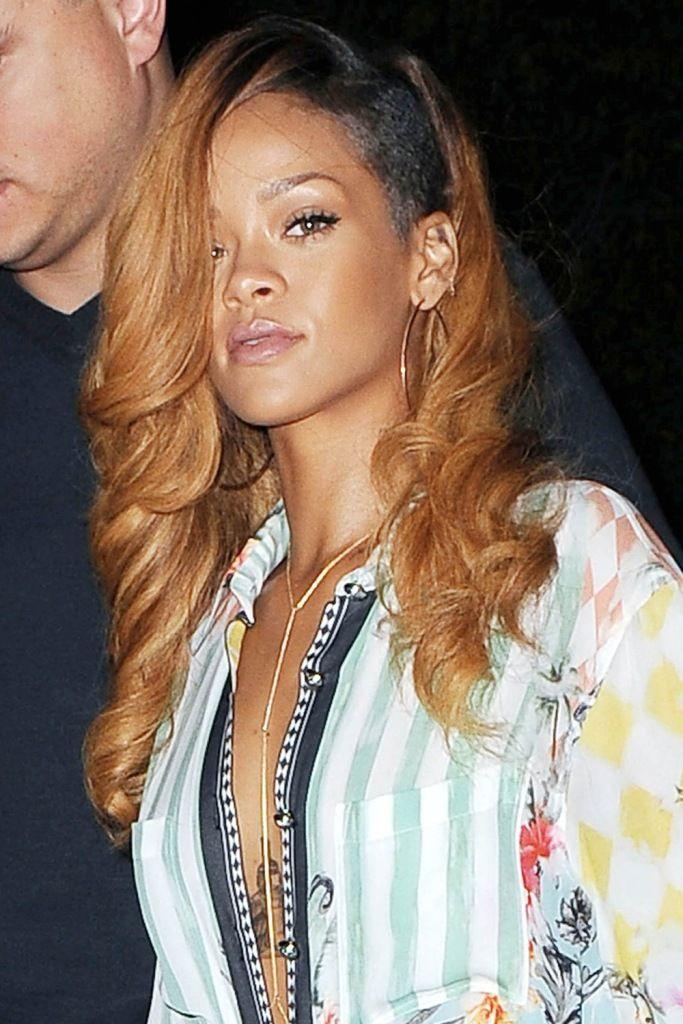 Rihanna leaving Da Silvano restaurant in NYC 8.5.2013_66