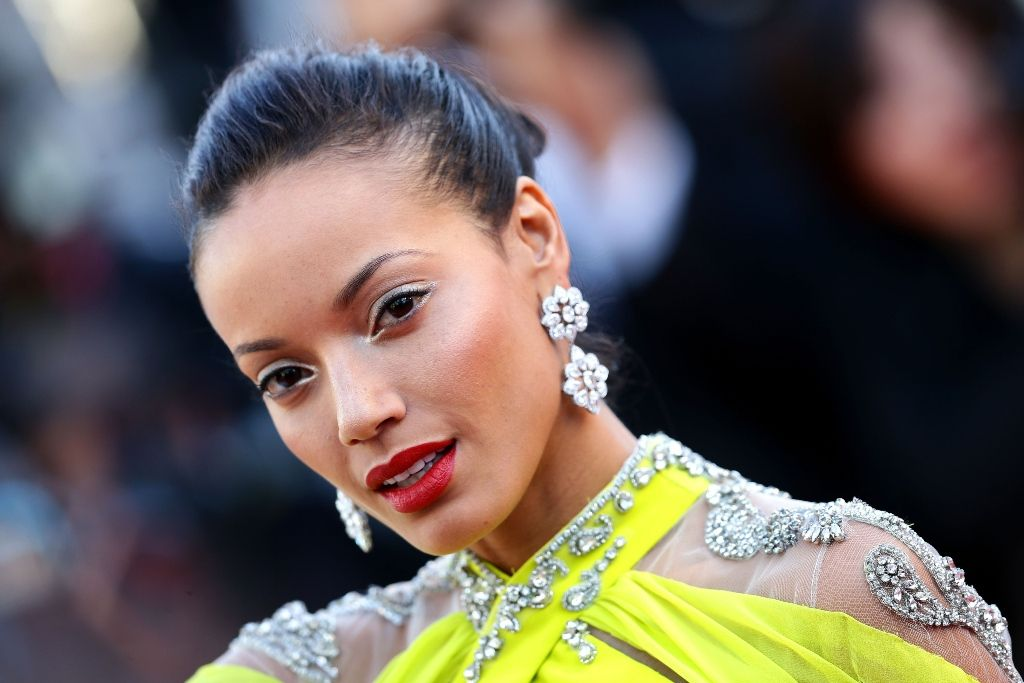 Selita Ebanks arrives for the film Blood Ties during the 66th Cannes Film Festival 20.5.2013_02