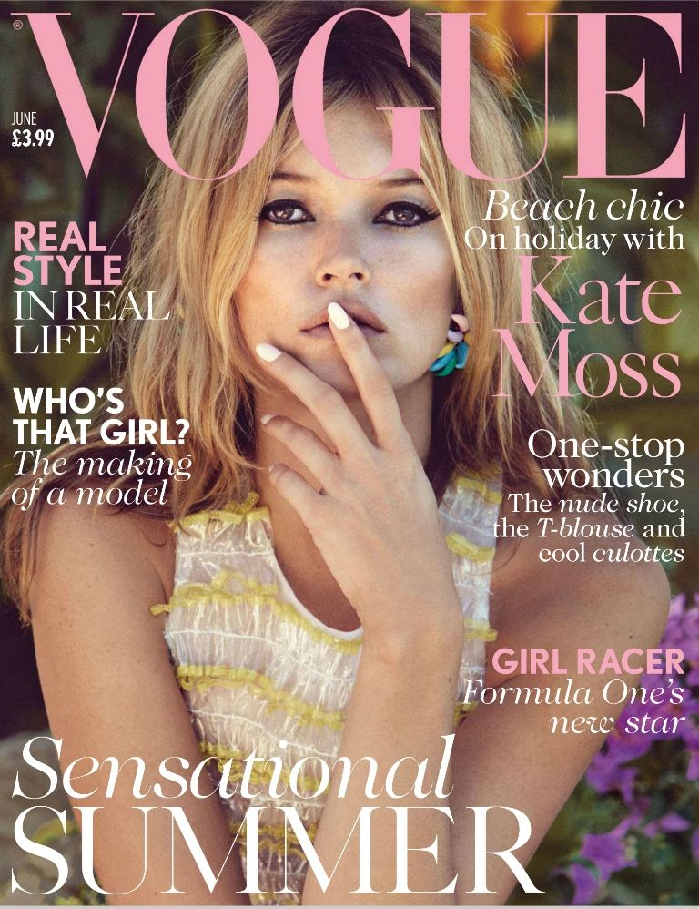 Vogue UK June 2013 - Kate Moss 01