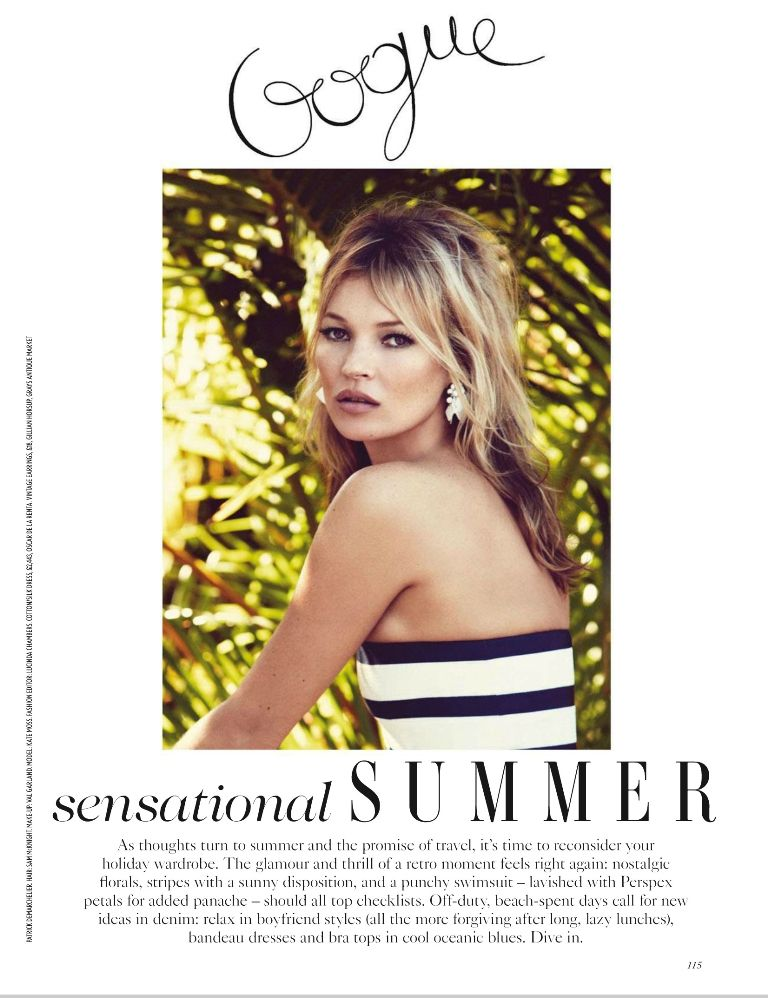 Vogue UK June 2013 - Kate Moss 02