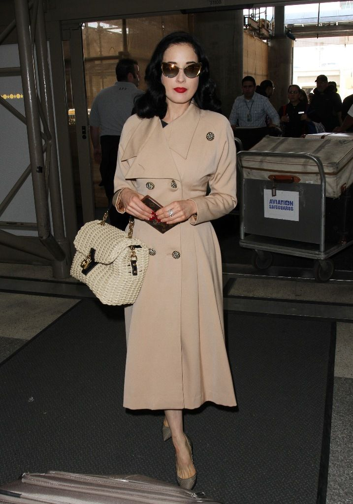celebrity-paradise.com-The Elder-Dita Von Teese 2013-05-17 - At LAX Airport _6_