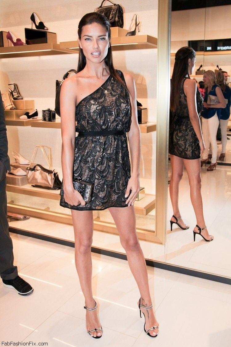 VC Signature Flagship Store Opening Hosted by VINCE and LOUISE CAMUTO & ADRIANA LIMA