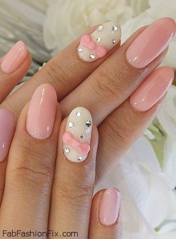 Nails bow manicure and nail art inspirations fab fashion fix fab fashion fix is back again with super cute nail art inspirations which will let your imagination work get inspired with pretty bows on nails prinsesfo Choice Image