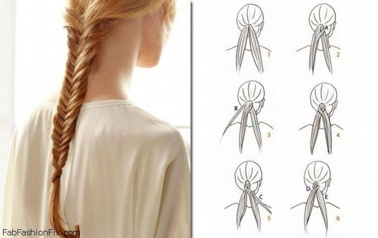 how to do a fishtail braid The fishtail braid is the hair style of the season master your fishtail braid skills with our easy how-to tutorial with step-by-step braid instructions.