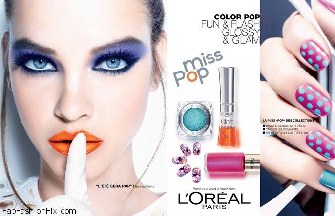 Barbara Palvin for L'oreal Miss Pop Collection 2013-012