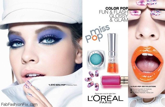 Barbara Palvin for L'oreal Miss Pop Collection 2013-013