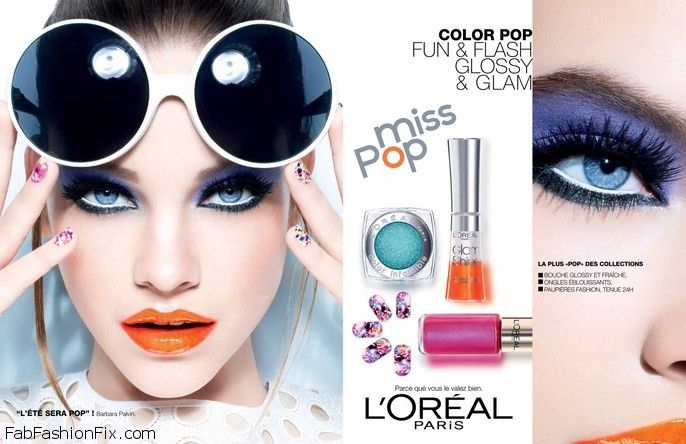 Barbara Palvin for L'oreal Miss Pop Collection 2013-014