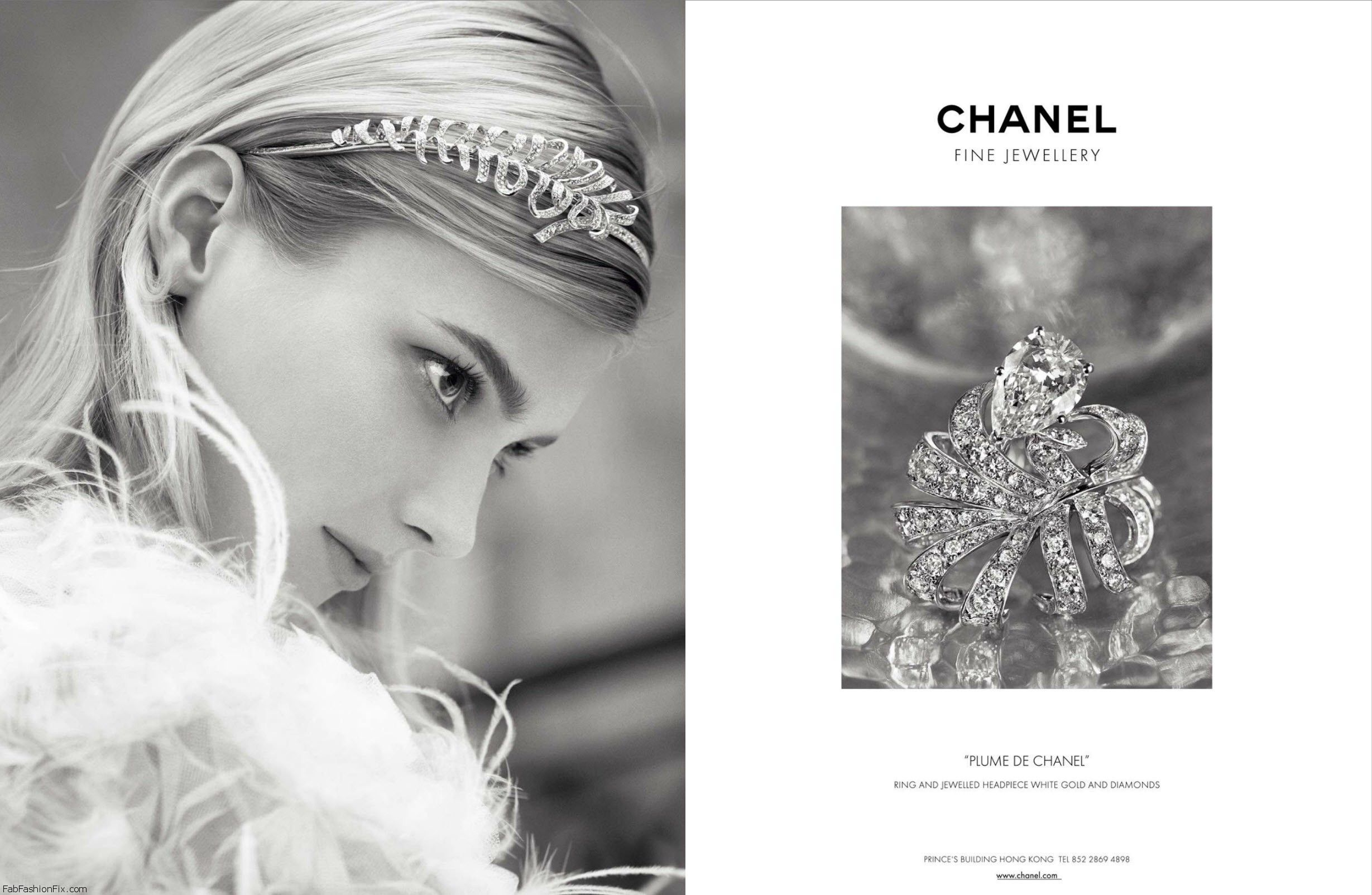 Chanel Fine Jewelry SS 2013  'Plume de Chanel' Jewelled headpiece