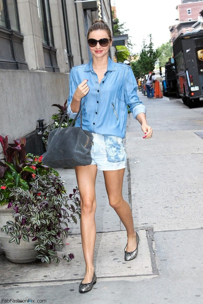 Miranda Kerr out in NYC 6 17 13