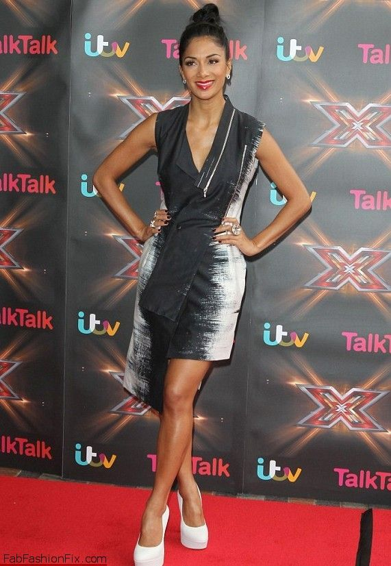 Nicole Scherzinger X Factor auditions in Birmingham